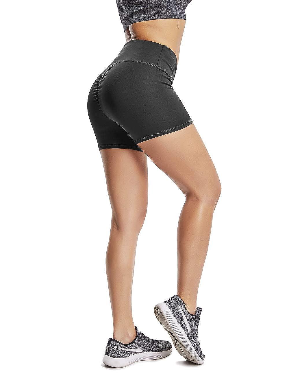 TALLA XL. FITTOO Pantalón Corto - para Mujer
