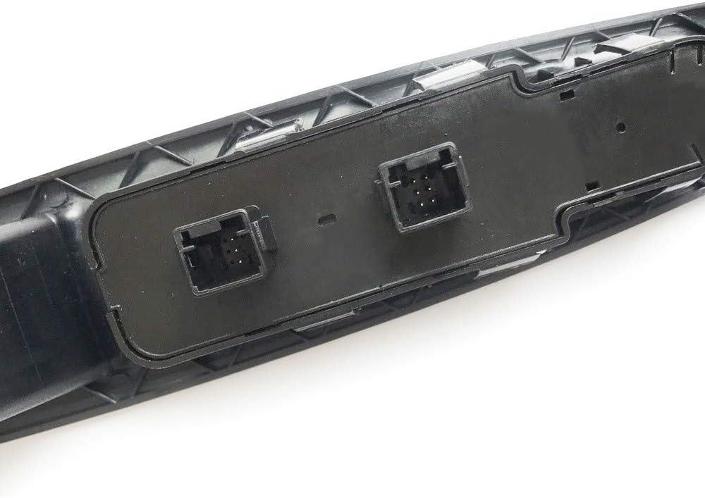 Palanca de cristal retrovisor manual delantero izquierdo compatible con Citro/ën C4 9 PIN 9651464577 6554.HA Pro-Plip