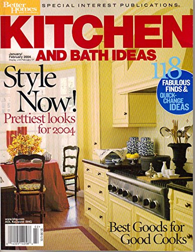 Kitchen and Bath Ideas, Better Homes and Gardens Special Interest Publications (January February, 2004)