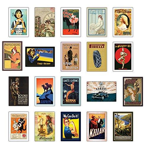 Vintage Cartes Postales – Lot de 20 cartes postales anciennes Rétro différentes (II)