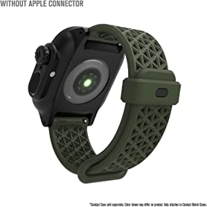 Designed for Apple Watch SE 38mm 40mm, Series 6, Breathable, Sports Wristband Strap Replacement Band Without connectors Designed for Series SE/6/5/4/3/2/1 - Army Green