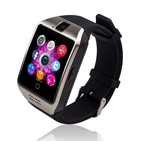 Bluetooth Smart Watch Touch Screen Smartwatch with Camera and SIM Card TF/SD Card Slot Pedometer Fitness Tracker for Android Phones Samsung Huawei, ...