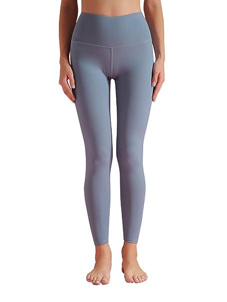 Gmardar Mallas para Mujer, Pantalones de Yoga Largos Talle Alto Elásticos y Transpirables Leggins Mujer Deportivos para Running Fitness Pilates ...