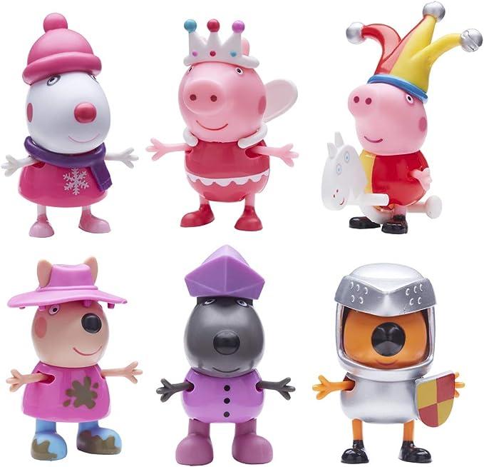 Peppa Pig - Figuras Fiesta de Disfraces (Modelo Aleatorio): Amazon.es: Juguetes y juegos