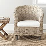 Safavieh Home Collection Omni Natural Unfinished Barrel Chair