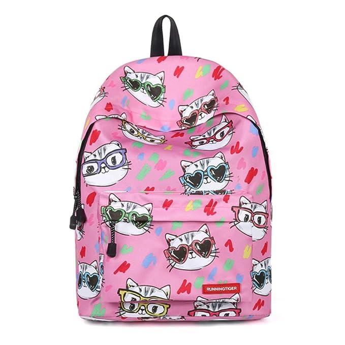 Mochilas Escolares Para Niños Mochilas Ligeras Lindas De Unicornio Para Adolescentes Bolsos Escolares Para Niñas,Pink-40 * 30 * 17cm: Amazon.es: Ropa y ...