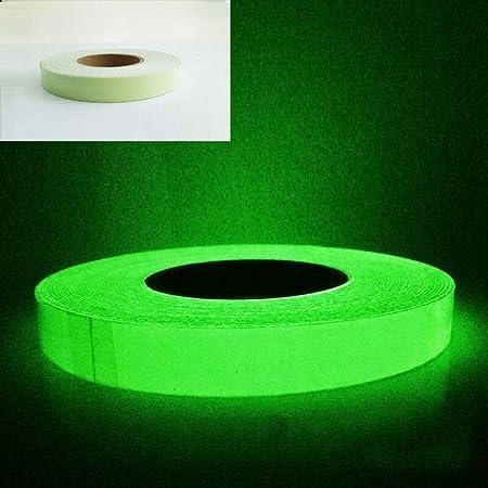 HYDKU - Cinta Fluorescente para escaleras, Antideslizante, Color Verde: Amazon.es: Hogar
