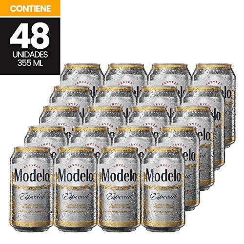 Cerveza Clara, Modelo Especial, 48 latas de 355ml c/u