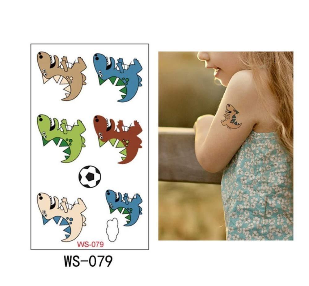 SDEFGH Etiqueta engomada del tatuaje Decoraciones para niños niñas ...