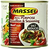 Massel Gluten-Free, Salt Reduced All Purpose Bouillon & Seasoning Granules, Beef Style, 4.2-Ounce (Pack of 6)