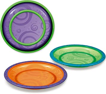 Munchkin 3 Pack Toddler Plate Colors May Vary (Discontinued by Manufacturer)  sc 1 st  Amazon.com & Amazon.com : Munchkin 3 Pack Toddler Plate Colors May Vary ...