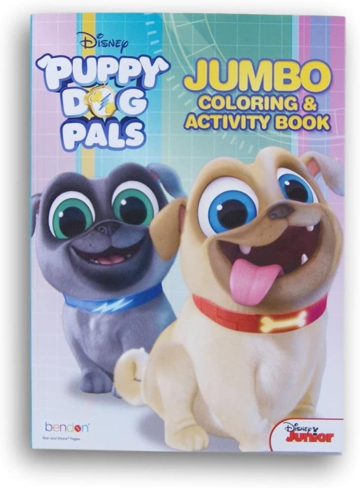 Bendon Publishing International Puppy Dog Pals Coloring and Activity Book - 64 Pages