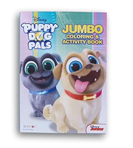 Puppy Dog Pals Coloring And Activity Book 64 Pages
