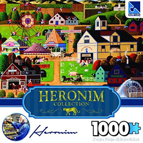 Surelox Heronim Chester County Fair Puzzle Collection (1000Piece)