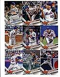 #6: 2017 Topps New York Mets Complete Master Team Set of 33 Cards (Series 1, 2, Update) with Travis d'Arnaud(#14), David Wright(#19), Robert Gsellman(#21), Thor and the Dark Knight(#32), Gabriel Ynoa(#79), Asdrubal Cabrera(#86), Matt Reynolds(#136), Jacob deGrom(#155), Matt Harvey(#164), Wilmer Flores(#172), Noah Syndergaard(#211), Lucas Duda(#236), Jeurys Familia(#301), Seth Lugo(#319), Michael Conforto(#408), Neil Walker(#416), New York Mets(#426), Jay Bruce(#428), plus more