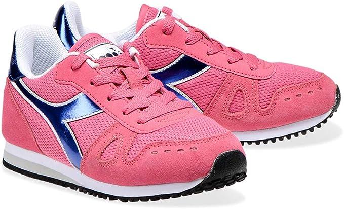 Diadora Simple Run GS Girl Zapatillas Deportivas para niña Shoes ...