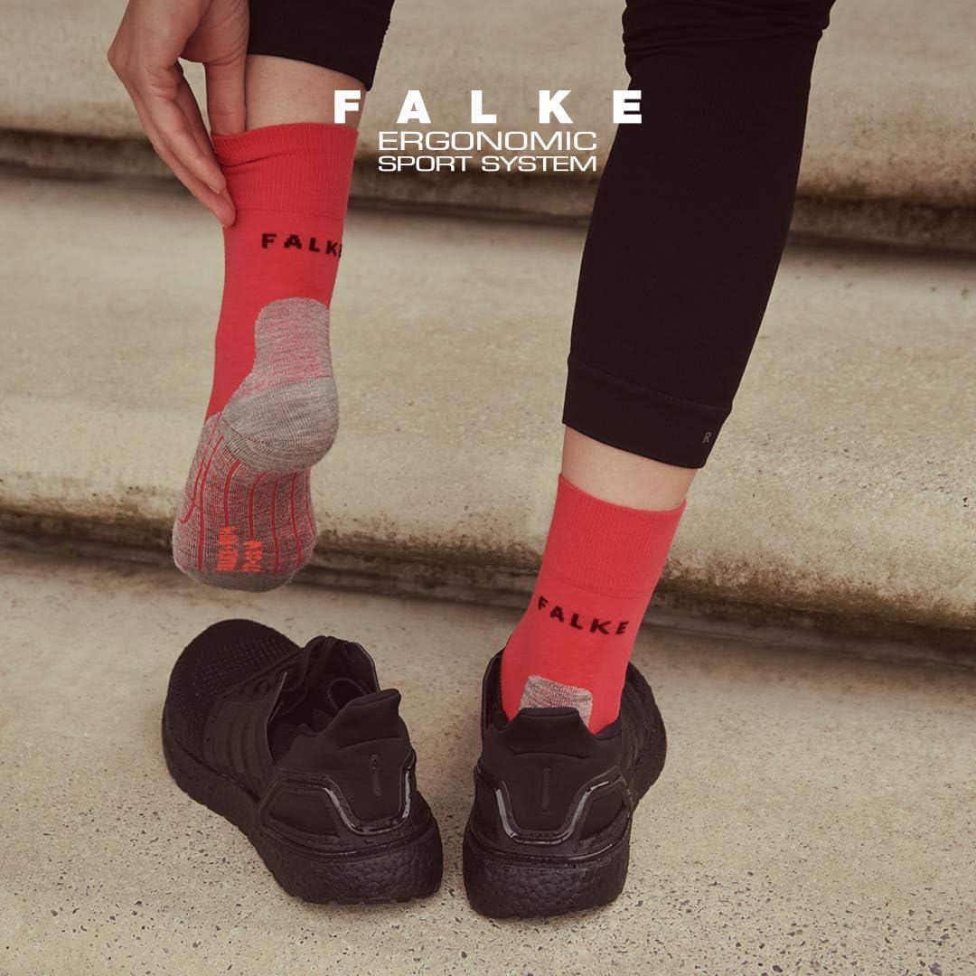Light Grey Size 39-40 Falke Womens RU4 Running Socks