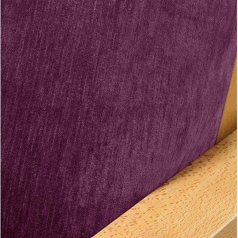 Chenille Plum Fitted Mattress Cover Twin 247