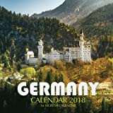 Germany Calendar 2018: 16 Month Calendar