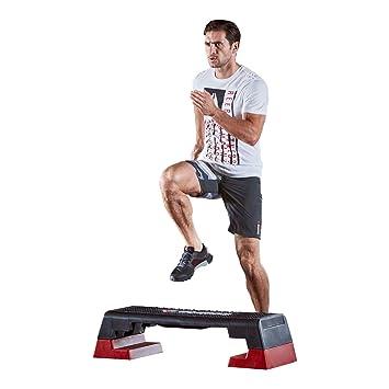 7a15dbd55c6 Reebok Step schwarz rot Stepper Steppbrett Step Aerobic Fitness ...