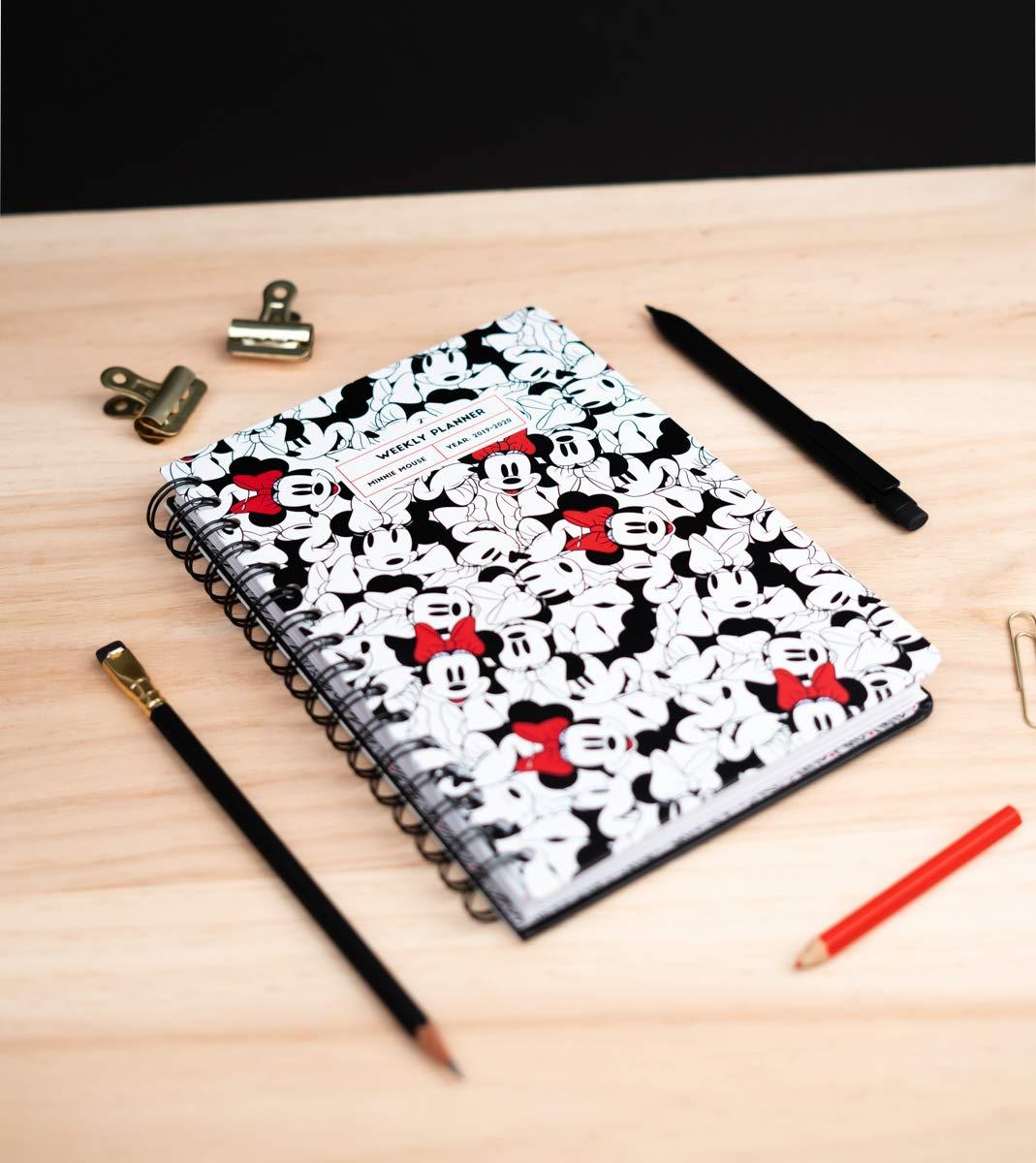 Amazon.com : Minnie Mouse 2019/2020 A5 12 Month Academic ...