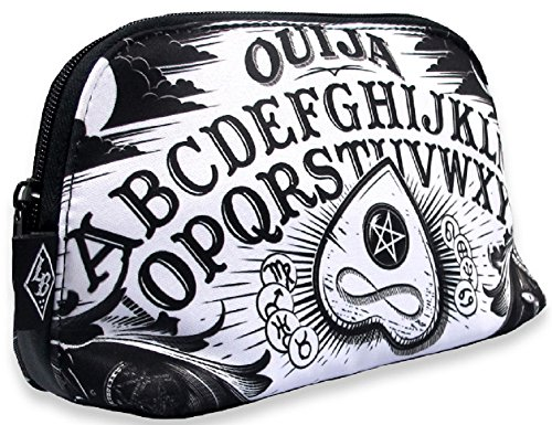 Liquorbrand Ouija Board Halloween Goth Unisex Cosmetic Make-up Shave Bag Pouch (Goth Halloween Makeup)