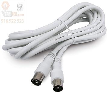 9037R24 - Prolongación de cable coaxial para antena TV 5 m ...