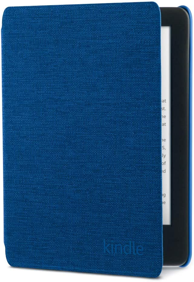 Kindle Fabric Cover - Cobalt Blue(10th Gen - 2019 release only—will not fit Kindle Paperwhite or Kindle Oasis).