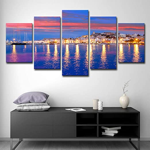 Home Decor Items 40 40cm Abstract Canvas Print Art Oil Painting Wall Picture Home Decor Colorful Home Furniture Diy Pneumec In