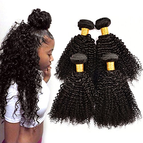 [Originea TM 4Pcs Lot Virgin Human Hair Jerry Curl Images Weave] (Halloween Toronto Costumes)