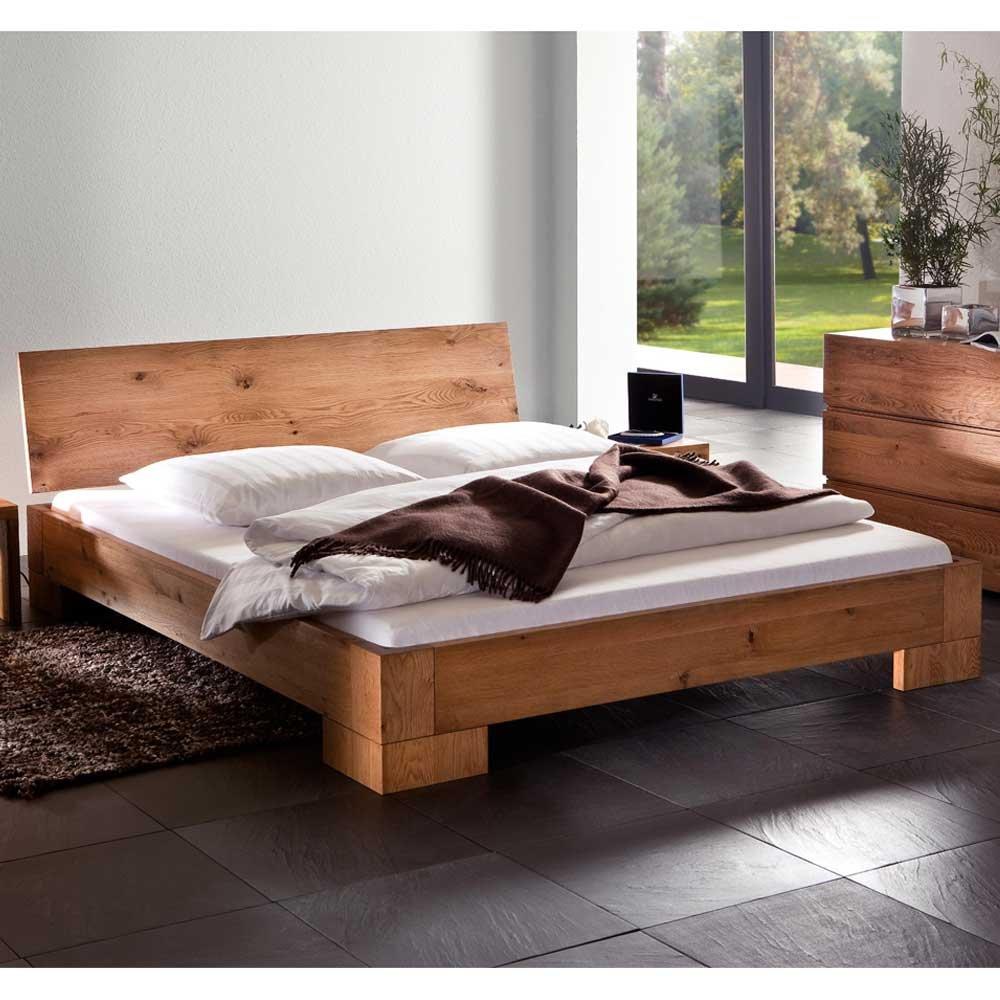 Massivholzbett Bett Modern Eiche Natur Geölt Nala Ausführung 7