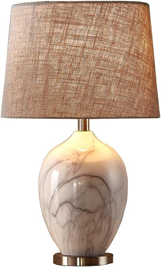 Lámparas de escritorio clasicos Lámpara de cerámica de mesa, Alta ...