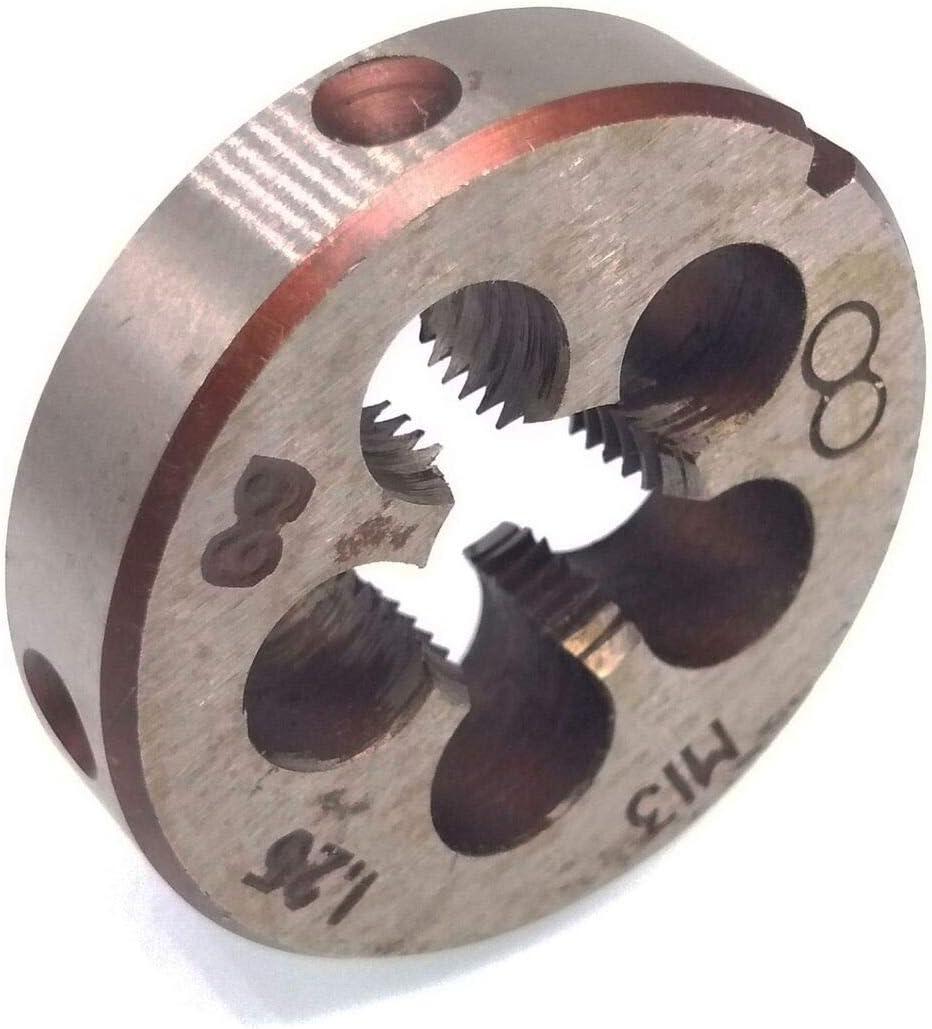 HSS 13mm x 1.25 Metric Die Right Hand Thread M13 x 1.25mm Pitch
