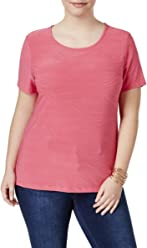 ab9fa3c6449 JM Collection Womens Plus Jacquard Textured Casual Top