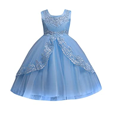 Amazon.com: PENATE Baby Girl Cinderella Princess Dress Elegant ...
