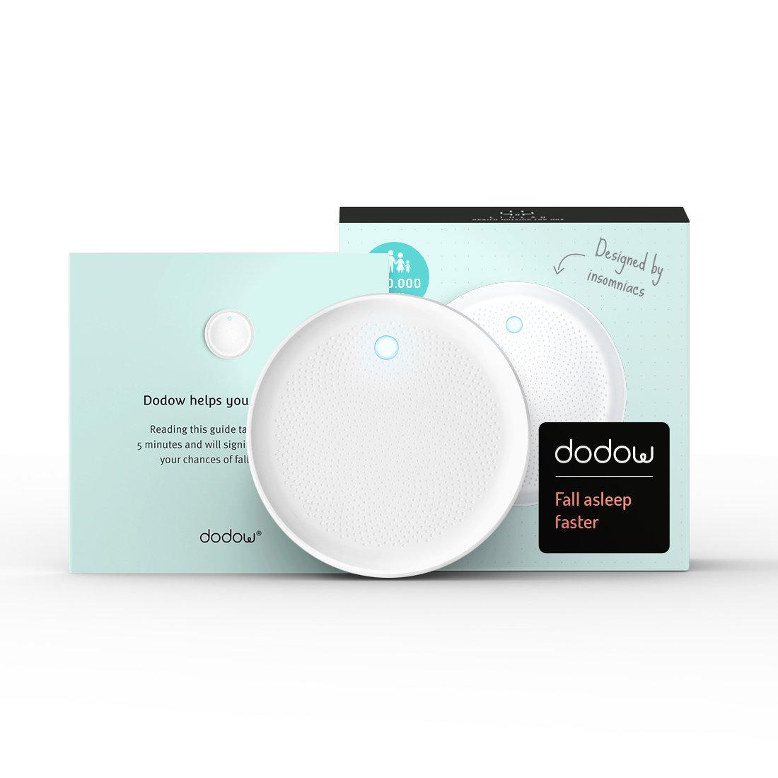 Dodow - Sleep Aid Device - More Than 500.000 Users are Falling Asleep Faster with Dodow! by DODOW