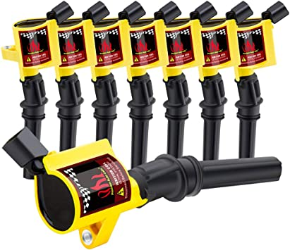10 High Performance Ignition Coils Pack For Ford F150 4.6L 5.4L F250 DG508 FD503