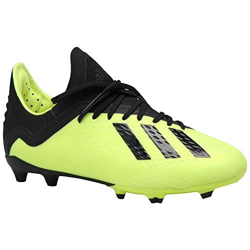 best service 36893 2cd02 adidas Kids  X 18.1 FG J Soccer Cleats (Sz. 4.5) Solar Yellow, Black   Amazon.ca  Shoes   Handbags