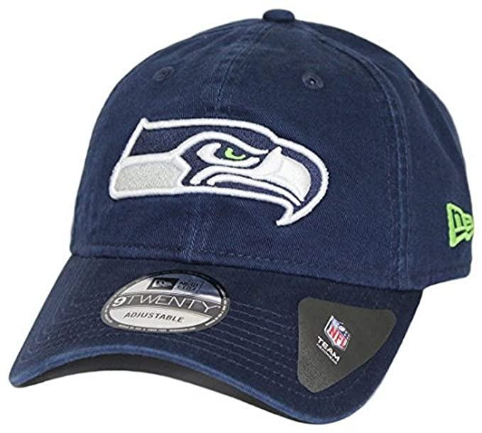 9217bb9b3 Seattle Seahawks New Era 9Twenty NFL Core Classic Adjustable Hat - Green
