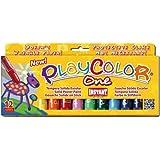 Playcolor 58231 - Témpera sólida, 12 colores