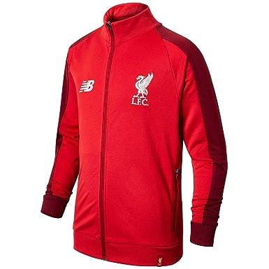 f30efe5e45344 Liverpool FC 18/19 Kids Elite Training Presentation Jacket - Red - Size XLB