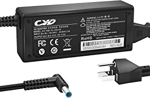 CYD 45W 65W Power Adapter PowerFast Compatible with Laptop-Charger HP Pavilion Sleekbook TS 14-K031tx M6-N015dx M6-P014dx M7-K211dx M7-K111dx 15-J007cl 14-N029tx 15-N018tx M6-N010dx Power Supply Cord