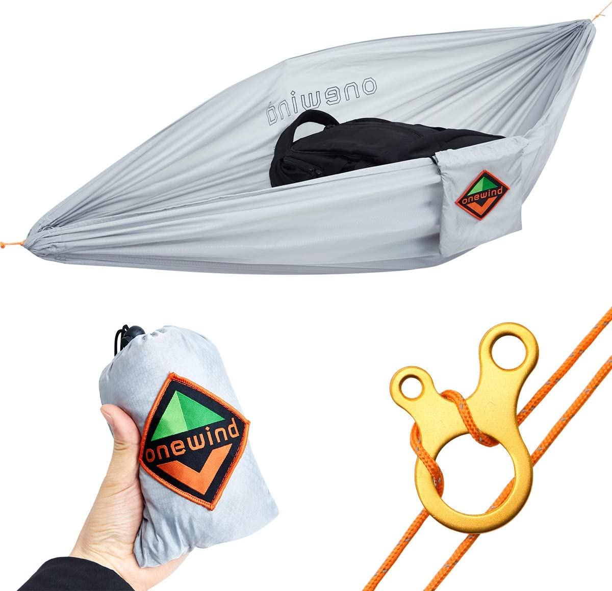 onewind Gear Hammock Mini Storage Camping Accessories Hammock Portable Outfitters Underbelly Gear Sling Hammock