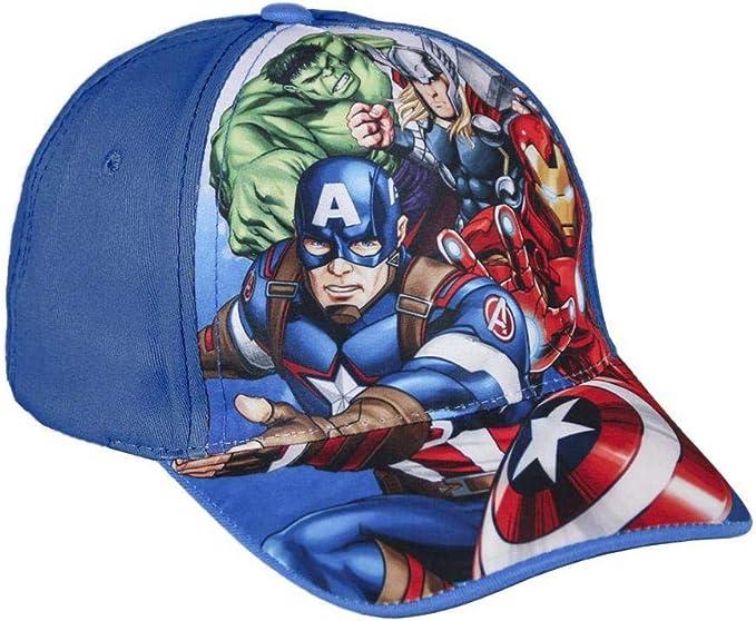 Cerdá Gorra Avengers 001, 3 (Tamaño del Fabricante:M) para Niños ...