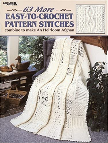 63 More Easy To Crochet Pattern Stitches Leisure Arts 2146