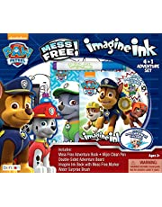 Bendon 41849 Paw Patrol Imagine Ink 4-in-1 Activity Box Set, Paw Patrol 4-in-1