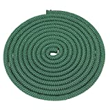 SGT Knots Nylon Rope (3/8 inch) Utility Cord Polypropylene Sheath - Moisture & Mildew Resistant - for Crafts, Cargo, Tie-Downs, Marine, Camping, Swings (50 ft - Hunter Green)