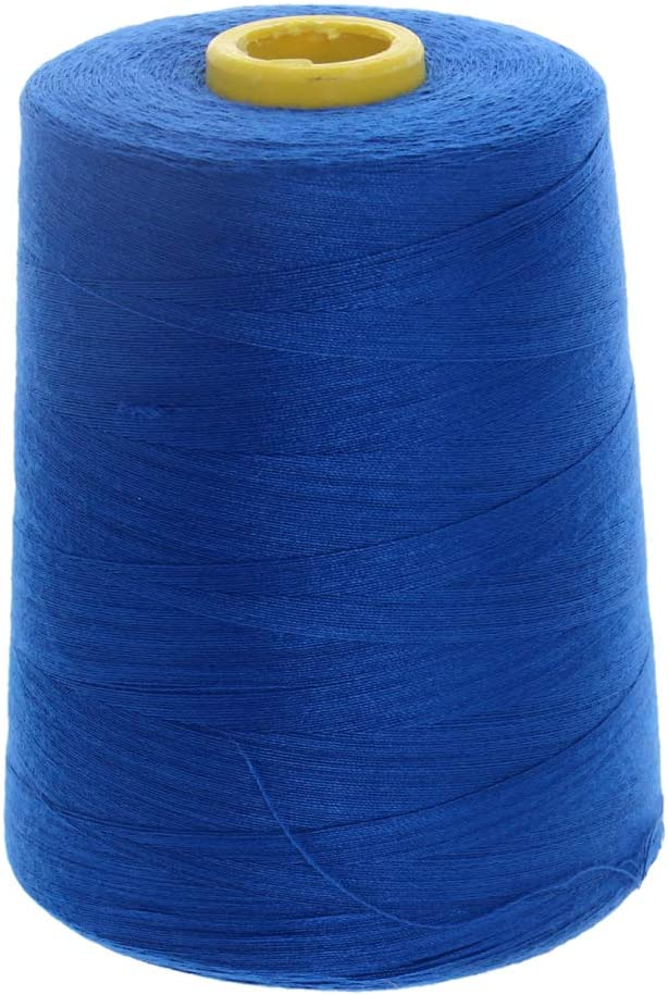 Othmro Sewing Thread for Polyester 40S Serger Machine Thread 8000 Yards Each Spools Embroidery Thread Connecting Serger Thread for DIY Sewing Machine 1PCS Black