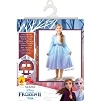 Disney, Elsa Travel Frozen2 Classic - Disfraz