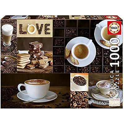 Educa Borras 1000 Caff Puzzle Colore Various 17663